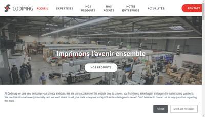 Site internet de Codimag