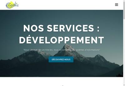 Site internet de Cogelis