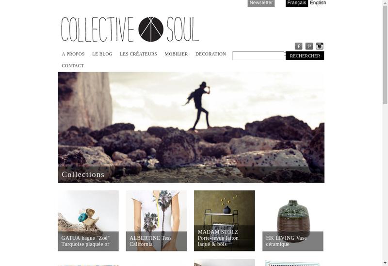Capture d'écran du site de Collective Soul