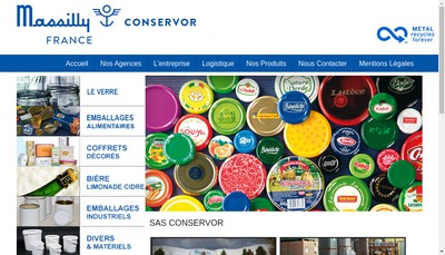 Site internet de Conservor