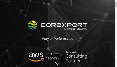 Site internet de Corexpert