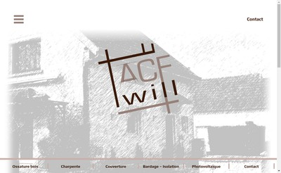 Site internet de Acf Relief - Metal Innovation