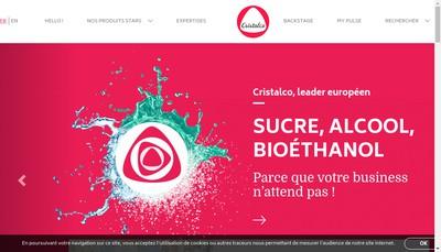 Site internet de Cristalco