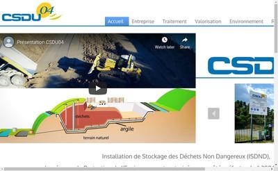 Site internet de Csdu 04