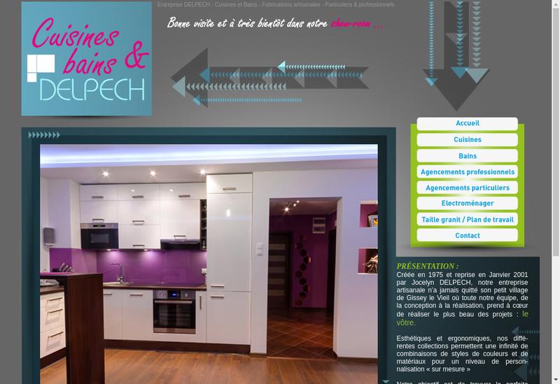 Capture d'écran du site de Neocom