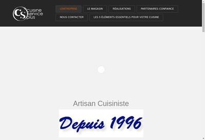 Site internet de Cuisine Service Plus