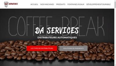 Site internet de Da Services