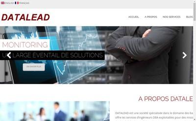 Site internet de Datalead