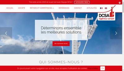 Site internet de Dcsa