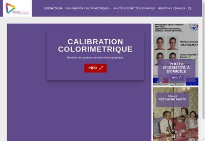 Site internet de Delta Color