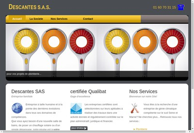 Site internet de Descantes