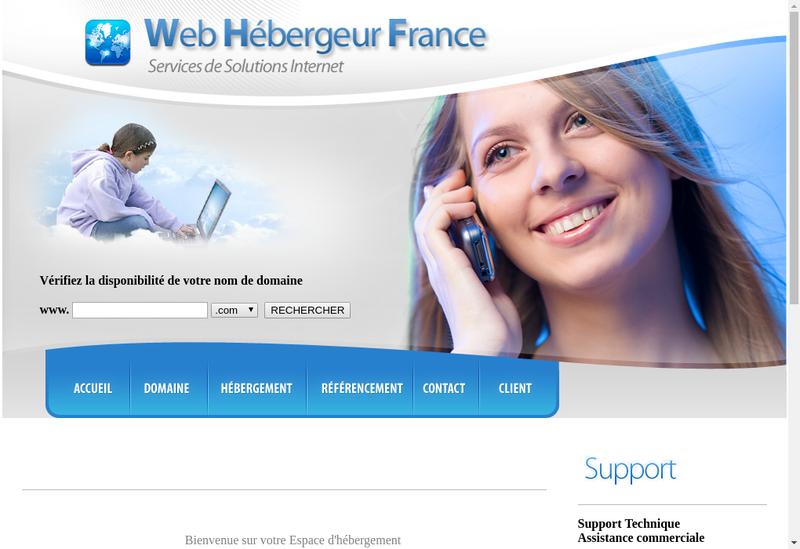 Capture d'écran du site de Sebastien Briche