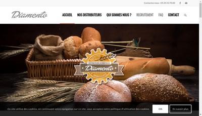 Site internet de Diamento
