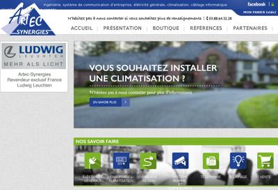 Capture d'écran du site de Diffusion Inter Brocante Antiquite