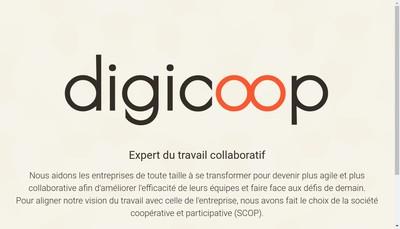 Site internet de Digicoop