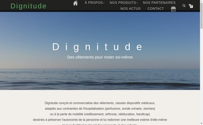 Site internet de Dignitude