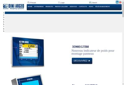 Site internet de Dini Argeo France