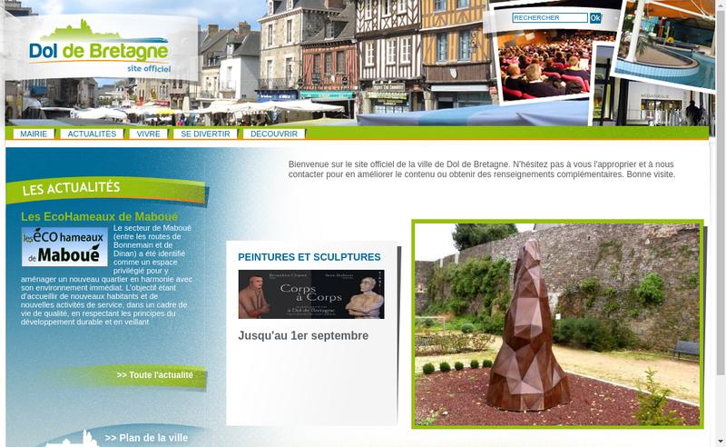 Capture d'écran du site de Jean-Francois Perrin