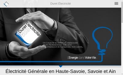 Site internet de Duret Solutions