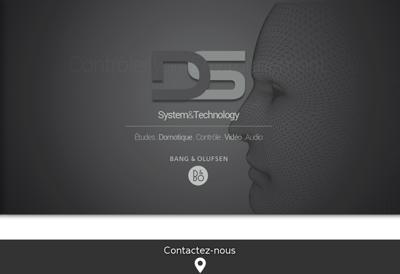 Capture d'écran du site de Duret Solutions