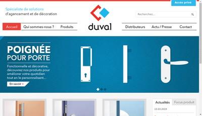 Site internet de Duval Bilcocq