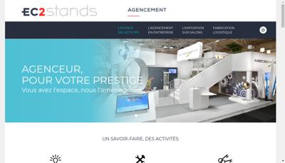 Capture d'écran du site de Ec2 Stands