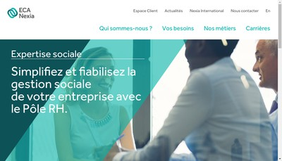 Site internet de Expertise Comptable et Audit