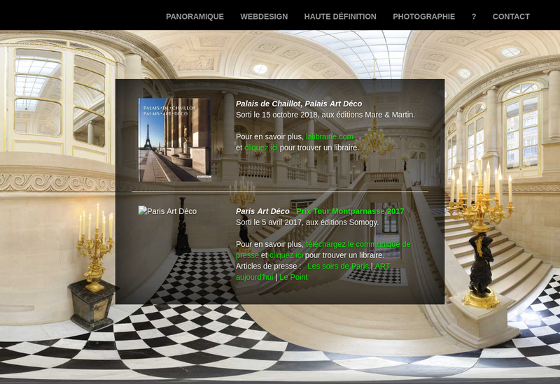 Capture d'écran du site de Ecliptique