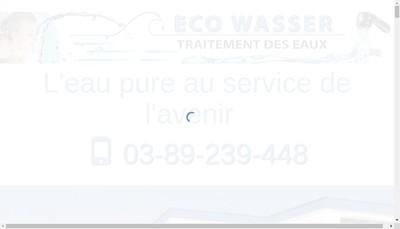 Site internet de Ecowasser