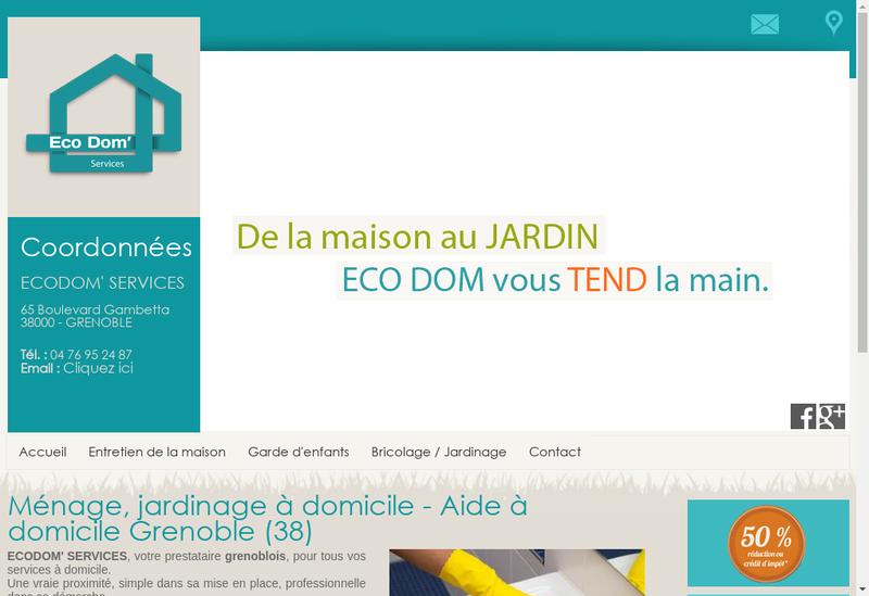 Capture d'écran du site de Algarve In The Box