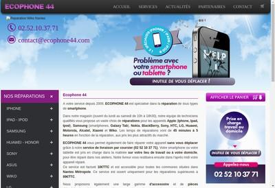 Site internet de Ecophone 44