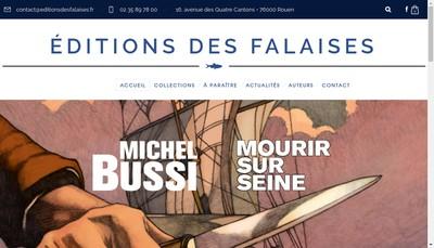 Site internet de Editions des Falaises