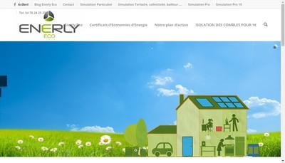 Site internet de Enerly Eco