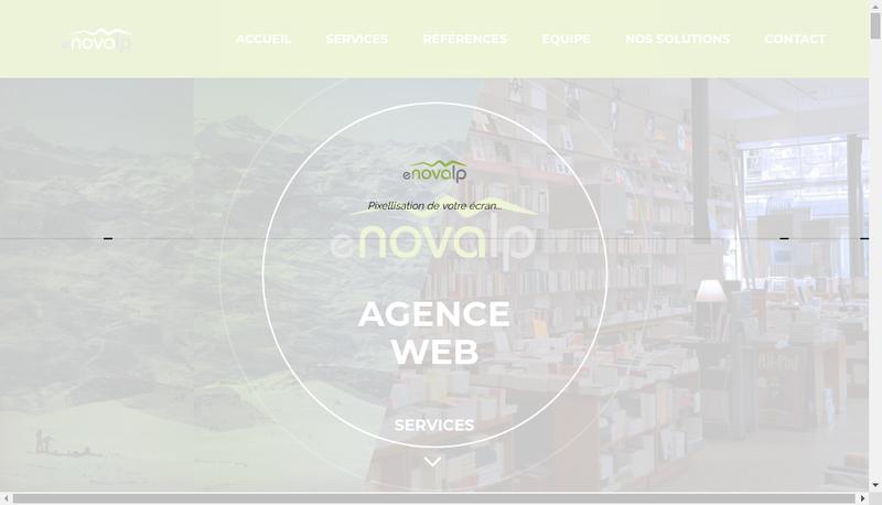 Site internet de Enovalp