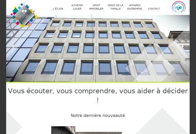 Capture d'écran du site de Enthena