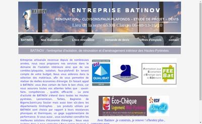Site internet de Batinov
