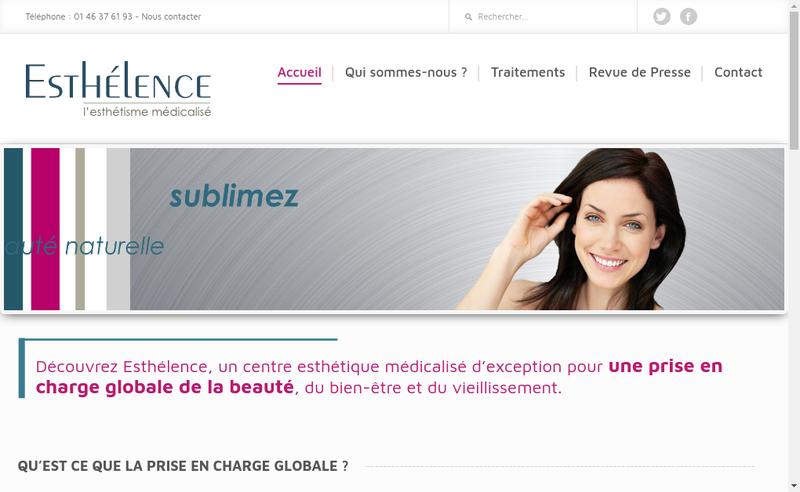 Site internet de Tj Sante