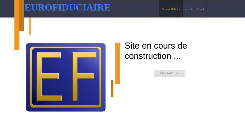 Capture d'écran du site de Groupe Euro Fiduciaire