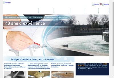 Site internet de Europelec