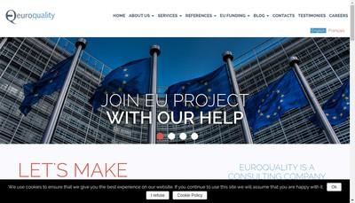 Site internet de Euroquality
