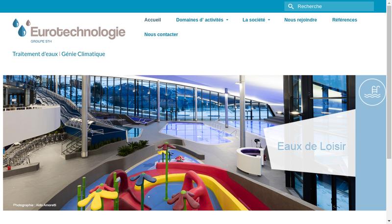 Capture d'écran du site de Euro-Technologie