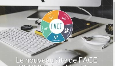 Site internet de Face Rennes