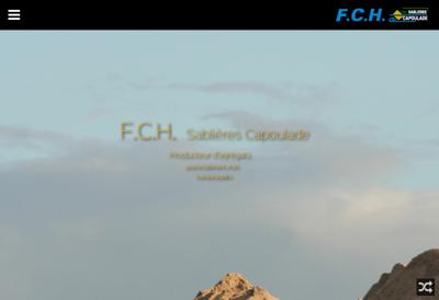 Capture d'écran du site de FCH