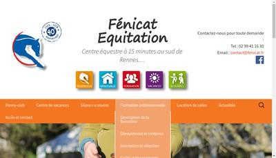 Site internet de Fenicat