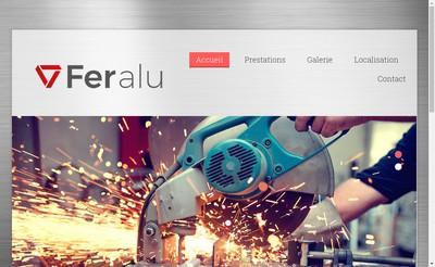 Site internet de Feralu SARL