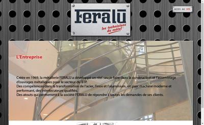 Site internet de Feralu