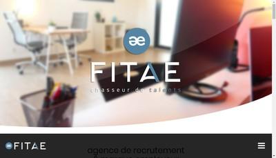 Site internet de Fitae