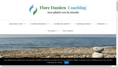 Site internet de Flore Damien Coaching