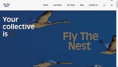 Site internet de Fly The Nest