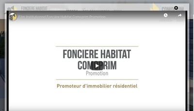 Site internet de Fonciere Habitat